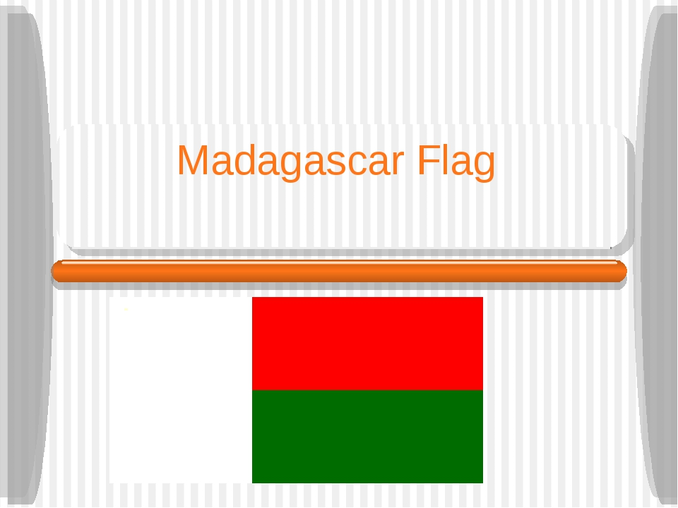 Madagascar Flag Consulate of Madagascar Bangkok March 2006