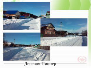 Деревня Пионер