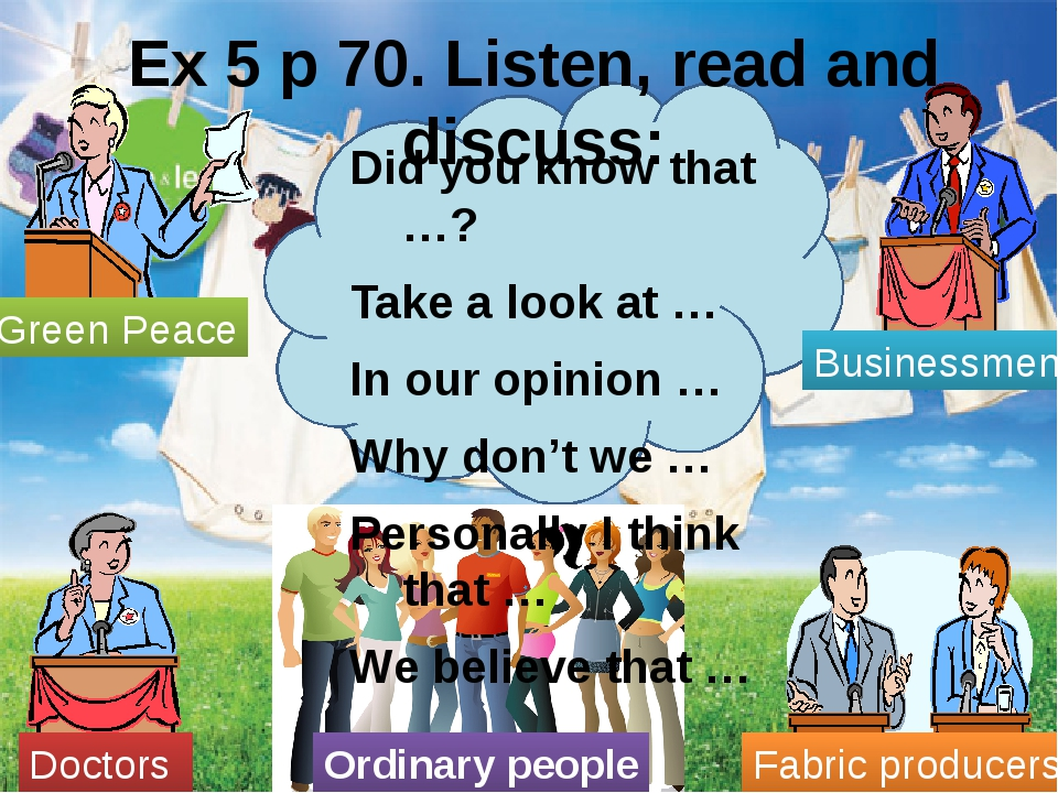 Ex 5 p 70. Listen, read and discuss: Did you know that …? Take a look at … I...