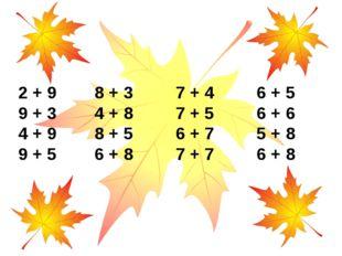 2 + 9 8 + 3 7 + 4 6 + 5 9 + 3 4 + 8 7 + 5 6 + 6 4 + 9 8 + 5 6 + 7 5 + 8 9 + 5