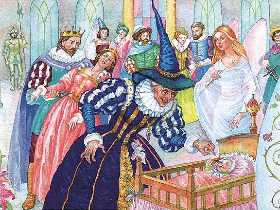 Картинки к сказке жуковского спящая царевна