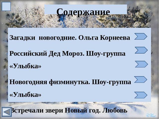 Российский Дед Мороз Шоу-группа «Улыбка»
