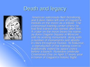 Death and legacy American astronauts Neil Armstrong and Edwin Aldrin left one