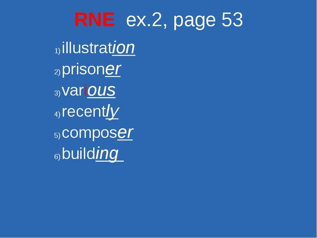 RNE ex.2, page 53 illustration prisoner various recently composer building