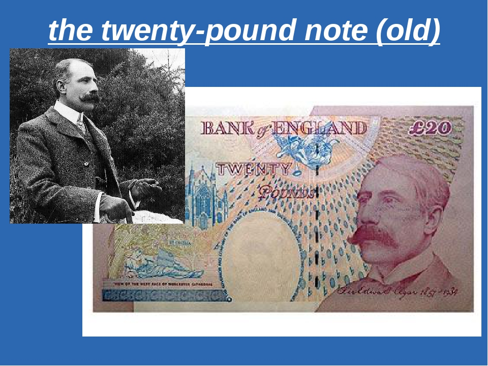 the twenty-pound note (old)