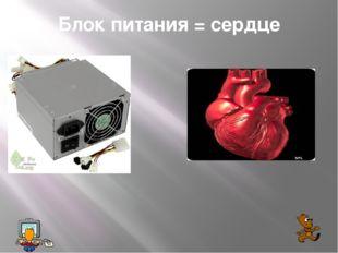 Блок питания = сердце