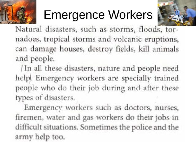 Emergence Workers