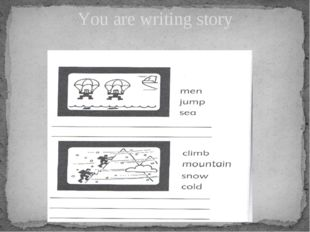 You are writing story
