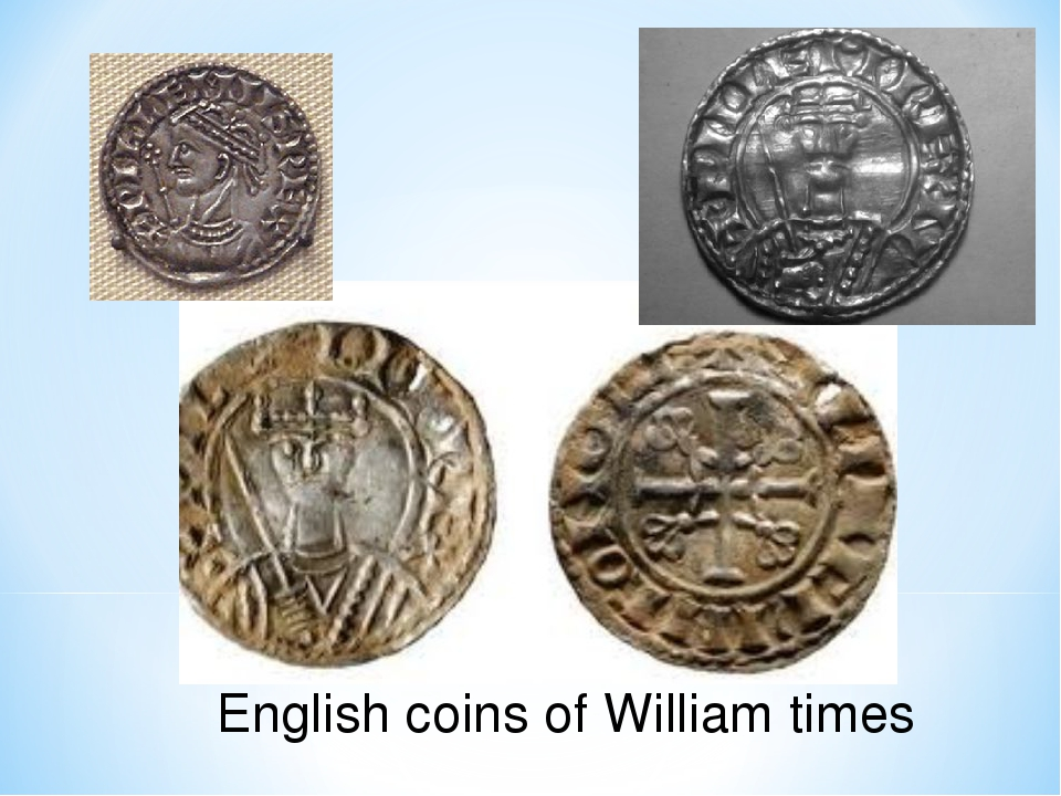 English coins of William times