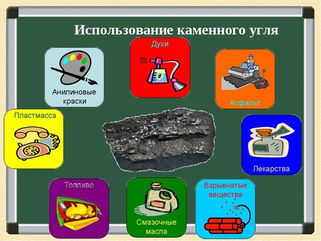 Использование каменного угля