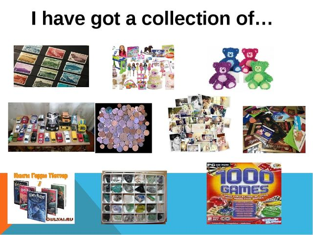 I have got a collection of…