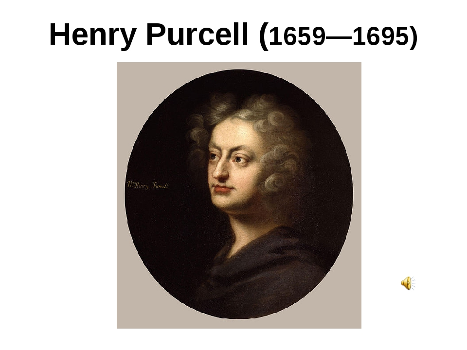 Henry Purcell (1659—1695)