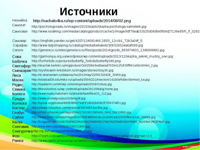 Источники http://nachalo4ka.ru/wp-content/uploads/2014/08/02.png Незнайка ht...