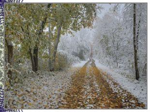 В ноябре деревья голы, Мокнут садики и школы. Рядом с капелькой-дождинкой Вье