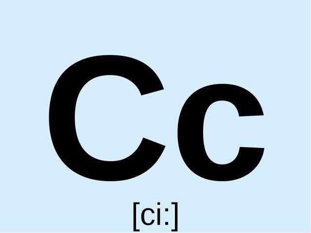 Cc [ci:]