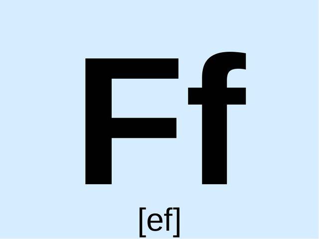 Ff [ef]