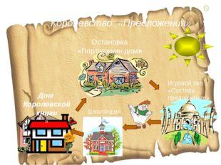 Королевство «Предложения» Дом Королевской книги » Игровой зал «Составь предло
