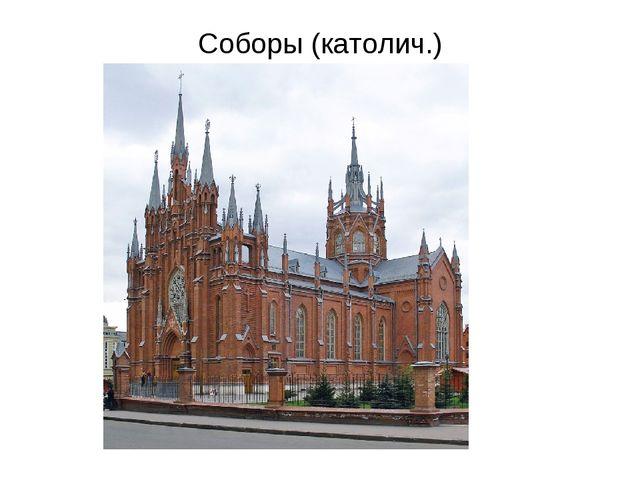 Соборы (католич.)