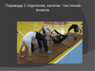 Пирамида 2 отделения, капитан -Чистякова Анжела.