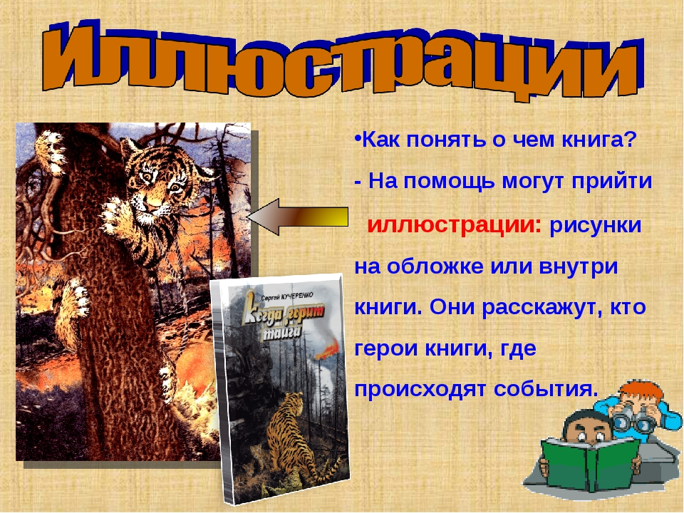 Как понять о чем книга? - На помощь могут прийти иллюстрации: рисунки на обло...