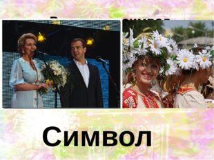 Ромашка – символ праздника Символ праздника Дня семьи, любви и верности - р