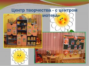 Центр творчества - с центром «Библиотека»