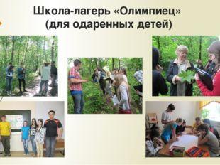 Школа-лагерь «Олимпиец» (для одаренных детей)