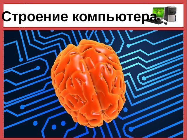 Строение компьютера © Фокина Лидия Петровна © Фокина Лидия Петровна