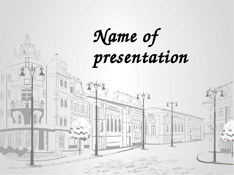 Name of presentation