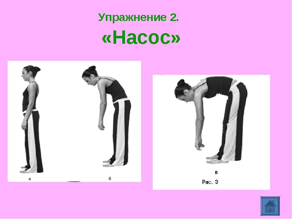 Упражнение 2. «Насос»