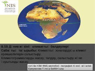 Актөбе НЗМ ФМБ мектебінің география пәнінің мұғалімі: Ермуканова Гүлнұр Бейбі