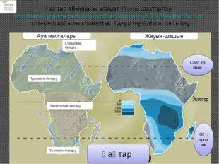 Қаңтар айындағы климат түзуші факторлар http://www2.palomar.edu/users/pdeen/A