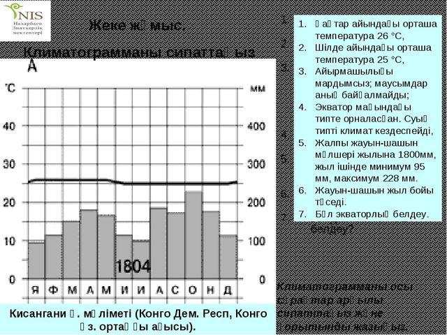 Қаңтар айының орташа температрасы қандай? Шілде айының орташа температурасы қ...