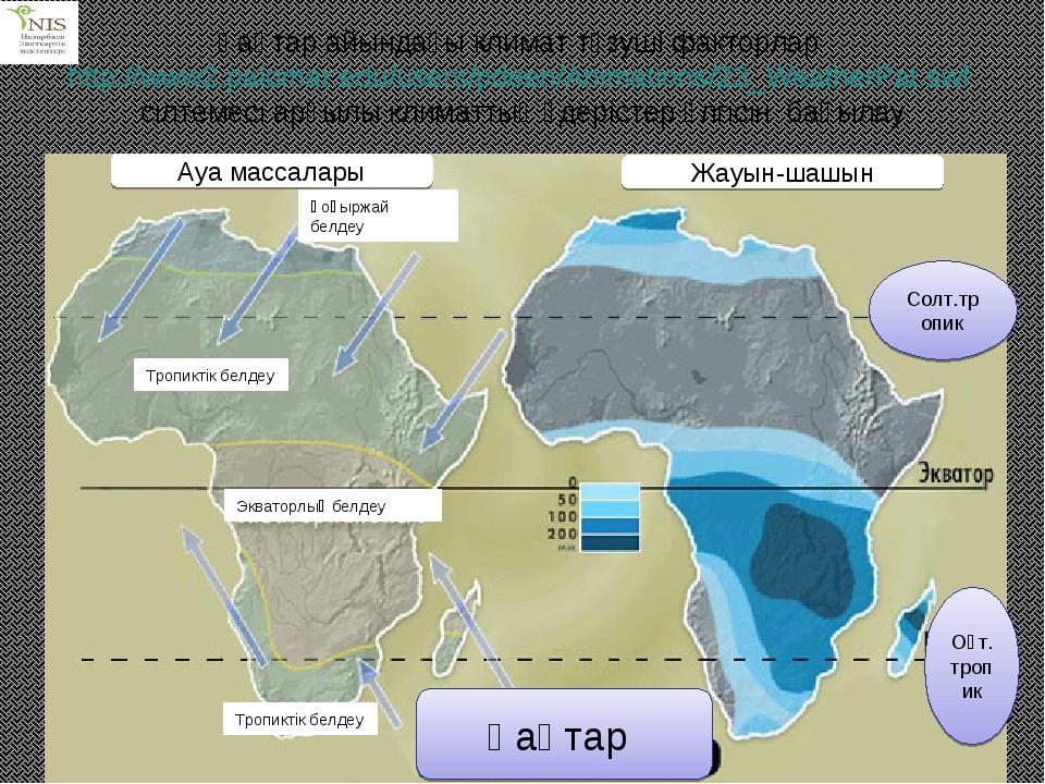 Қаңтар айындағы климат түзуші факторлар http://www2.palomar.edu/users/pdeen/A...