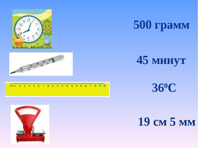 500 грамм 45 минут 360С 19 см 5 мм