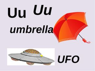 Uu Uu umbrella UFO