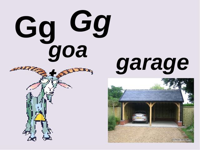 Gg Gg garage goat
