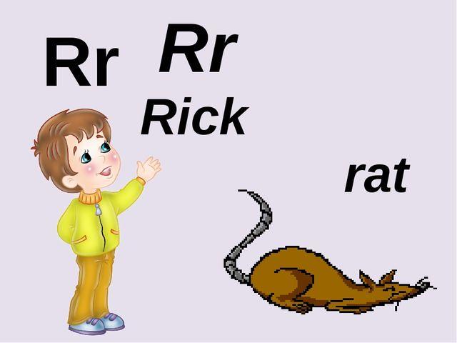 Rr Rr rat Rick