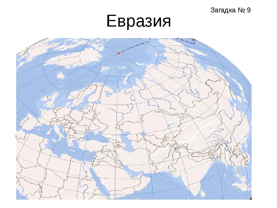 Евразия Субэкваториальный пояс Субтропический пояс Тропический пояс ? Загадка...