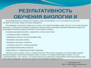 Стародубцева А.М. МБОУ «Суворовская средняя школа» 2015 РЕЗУЛЬТАТИВНОСТЬ ОБУЧ