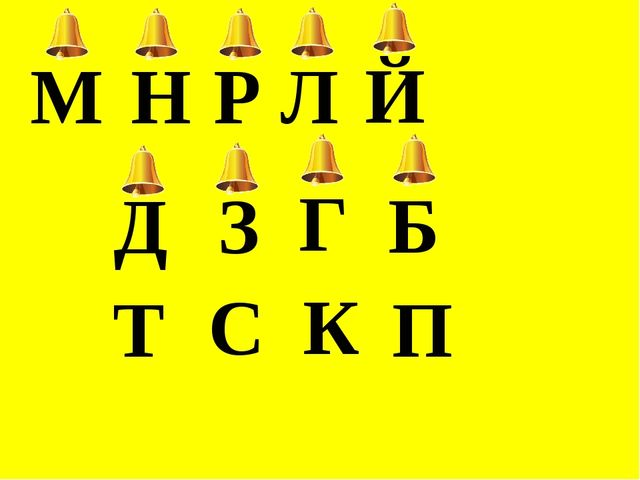 Р М Н Л Й Г К З С Д Т Б П