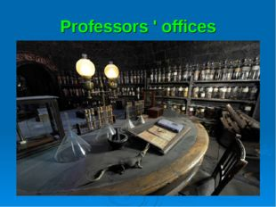 Professors ' offices