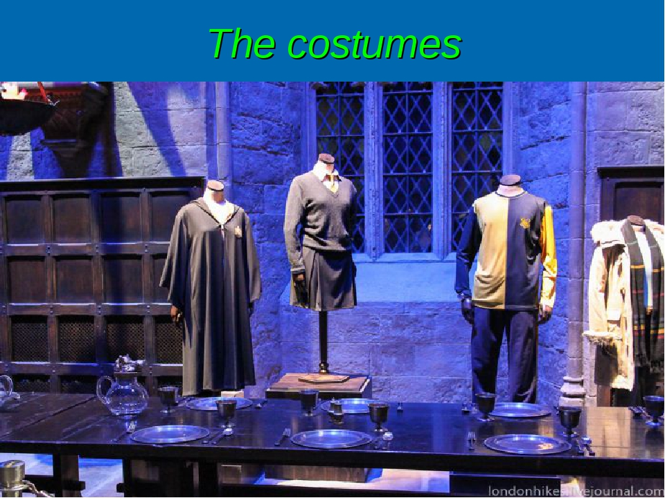 The costumes